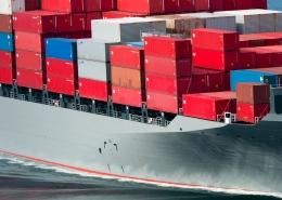 Container nehmen Fahrt auf